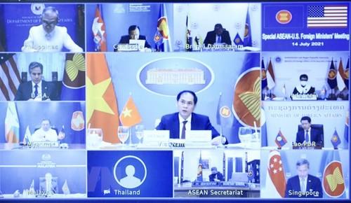 ASEAN-Hoa Kỳ nhất trí đẩy mạnh đối thoại và hợp tác - ảnh 1