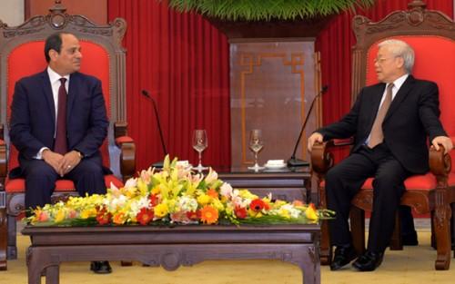 """Đại sứ Ai Cập """"thật sự ấn tượng"""" với bài viết của Tổng Bí thư Nguyễn Phú Trọng - ảnh 2"""