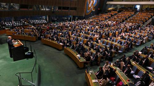 Chủ tịch nước Nguyễn Xuân Phúc dự khai mạc Phiên thảo luận chung cấp cao Khóa họp thứ 76 Đại hội đồng Liên hợp quốc - ảnh 1