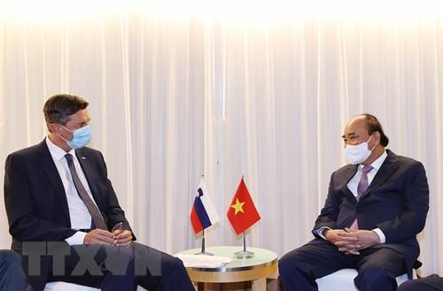 Chủ tịch nước Nguyễn Xuân Phúc gặp lãnh đạo các nước và tổ chức quốc tế - ảnh 4