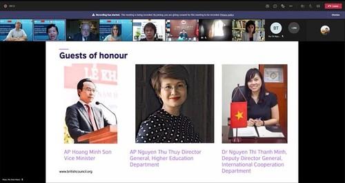Đại học Việt Nam và Vương quốc Anh chia sẻ kinh nghiệm về chuyển đổi số - ảnh 2