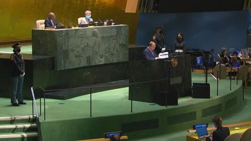 Chủ tịch nước phát biểu tại Đại hội đồng LHQ: Hợp tác để sớm chiến thắng COVID-19 - ảnh 2