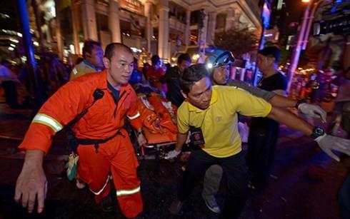 Không có người Việt Nam thiệt mạng trong vụ nổ bom ở Bangkok, Thái Lan - ảnh 1