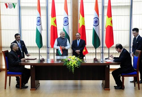 """Quan hệ Việt Nam - Ấn Độ nâng cấp quan hệ """"Đối tác chiến lược"""" lên """"Đối tác Chiến lược Toàn diện"""" - ảnh 3"""