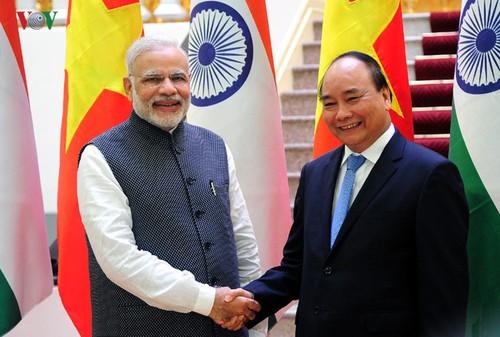 """Quan hệ Việt Nam - Ấn Độ nâng cấp quan hệ """"Đối tác chiến lược"""" lên """"Đối tác Chiến lược Toàn diện"""" - ảnh 1"""