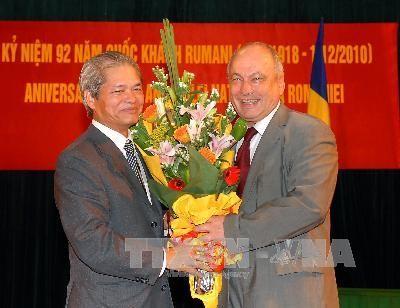 Gặp gỡ hữu nghị nhân kỷ niệm Quốc khánh Rumani  - ảnh 1