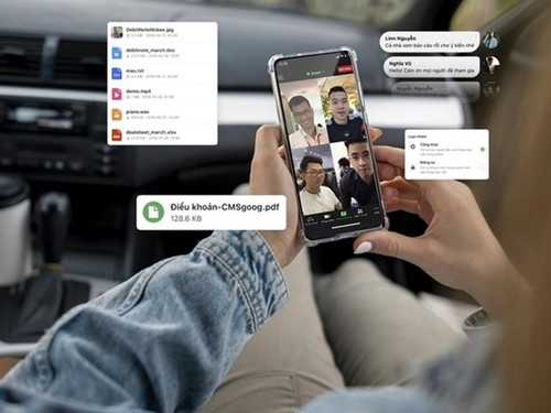 Local social network Gapo launches working platform for businesses - ảnh 1