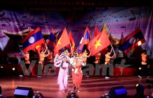 Ấn tượng đêm chung kết cuộc thi sáng tác ca khúc ca ngợi mối quan hệ Lào- Việt Nam - ảnh 1