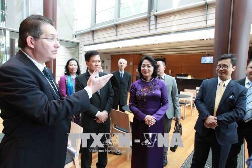 Hoạt động của Phó Chủ tịch nước Đặng Thị Ngọc Thịnh tại Australia - ảnh 1
