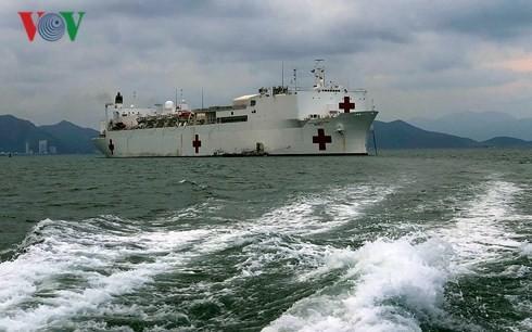 Tàu bệnh viện USNS Mercy tham gia Chương trình Đối tác Thái Bình Dương tại Nha Trang - ảnh 1