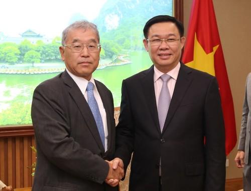 Phó Thủ tướng Vương Đình Huệ tiếp Phó Chủ tịch điều hành Tập đoàn Mitsubishi - ảnh 1