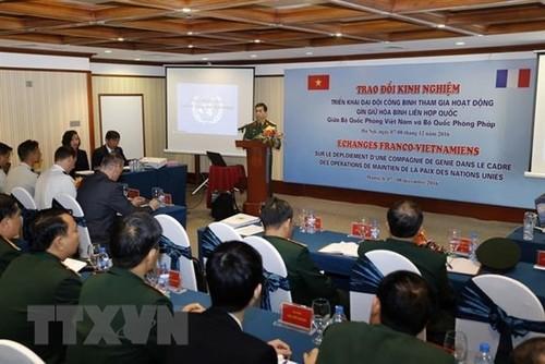 Lực lượng gìn giữ hòa bình Việt Nam phát động thi đua trước ngày lên đường - ảnh 1