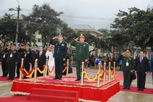 Hợp tác chặt chẽ giữa quân đội và nhân dân hai bên biên giới Phục Hòa – Long Châu - ảnh 1