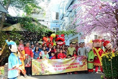 Người dân Việt Nam tưng bừng đón năm mới Kỷ Hợi - ảnh 3