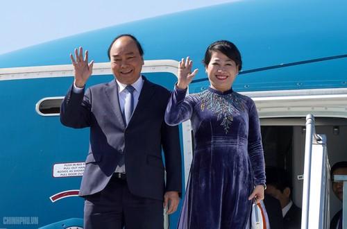 Thủ tướng Nguyễn Xuân Phúc đến Praha, bắt đầu thăm chính thức Cộng hòa Czech - ảnh 1