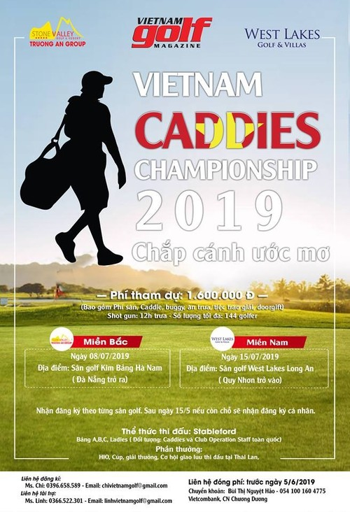 Giải Vietnam Caddies Championship 2019 - ảnh 1