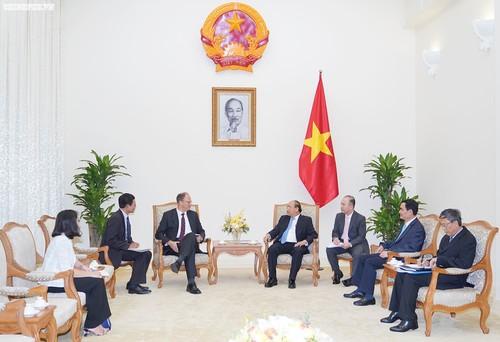 Thủ tướng Nguyễn Xuân Phúc tiếp Đại sứ Cộng hòa liên bang Đức Christian Berger - ảnh 1