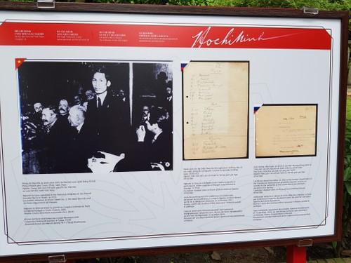 """Triển lãm """"Hồ Chí Minh-Cuộc đời và sự nghiệp từ tài liệu lưu trữ Việt Nam và quốc tế"""" - ảnh 1"""