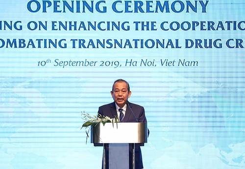 Việt Nam cam kết xây dựng một khu vực không có ma tuý - ảnh 1