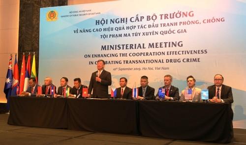 Kết quả hội nghị cấp Bộ trưởng về phòng, chống ma túy xuyên quốc gia - ảnh 1