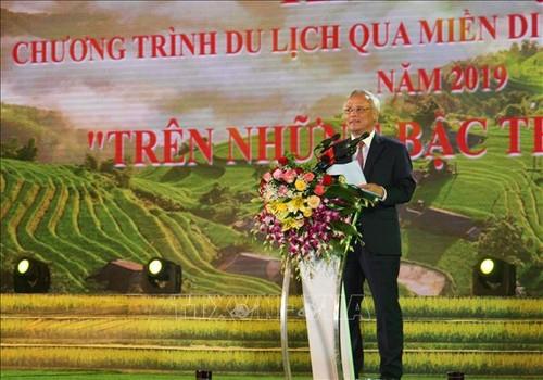 """Khai mạc Tuần Văn hóa """"Qua miền di sản ruộng bậc thang"""" Hoàng Su Phì - ảnh 1"""