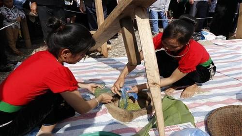 Lễ hội cốm Tú Lệ: Tôn vinh giá trị văn hóa truyền thống của đồng bào dân tộc Thái - ảnh 1