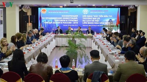 Xúc tiến đầu tư thương mại và du lịch Hà Nội tại Moscow - ảnh 1