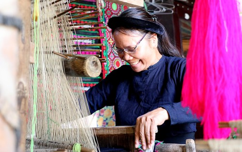 Nghề dệt truyền thống của dân tộc Tày ở Cao Bằng - ảnh 3
