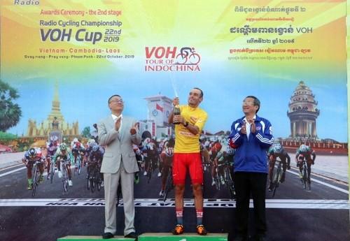 Giải đua xe đạp Nam Kỳ Khởi Nghĩa đi qua thủ đô Phnom Penh, Campuchia - ảnh 4