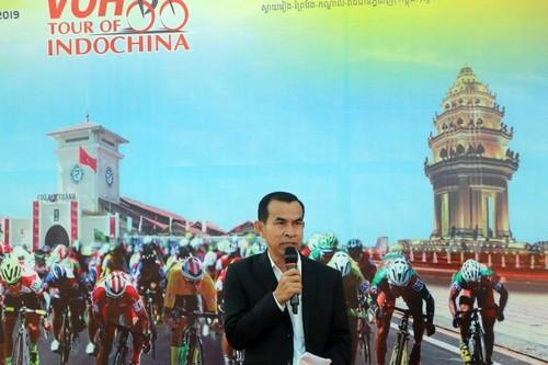 Giải đua xe đạp Nam Kỳ Khởi Nghĩa đi qua thủ đô Phnom Penh, Campuchia - ảnh 3