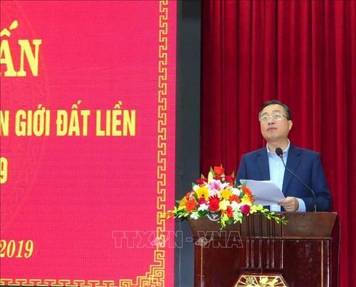 Tuyên truyền kết quả công tác quản lý biên giới đất liền Việt Nam – Campuchia - ảnh 1