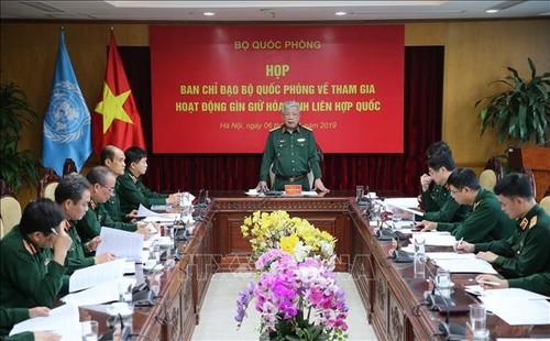Việt Nam tham gia gìn giữ hòa bình  LHQ: Cơ bản hoàn tất chuẩn bị xuất quân của Bệnh viện dã chiến cấp 2 số 2 - ảnh 1