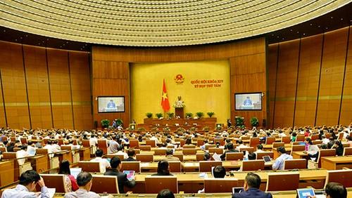 Quốc hôi thảo luận về dự án Luật Hòa giải, đối thoại tại Tòa án - ảnh 1