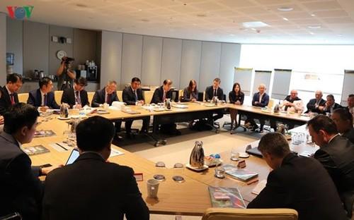 Bộ trưởng Kế hoạch Đầu tư gặp mặt các CEO hàng đầu Australia - ảnh 1