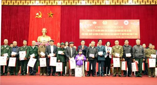 Phó Thủ tướng Vương Đình Huệ thăm, chúc Tết, tặng quà đồng bào các dân tộc tỉnh Yên Bái - ảnh 1