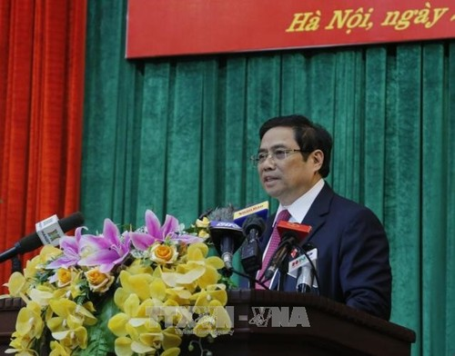Trưởng Ban tổ chức Trung ương Phạm Minh Chính tiếp Bộ trưởng Nội vụ, thông tin và truyền thông Nhật Bản Takaichi Sanae - ảnh 1