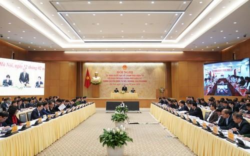 Thủ tướng: xây dựng Chính phủ điện tử Việt Nam có thể rút ngắn so với nhiều nước - ảnh 1