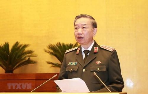 Bộ trưởng Bộ Công an Tô Lâm tiếp Đại sứ  Hàn Quốc tại Việt Nam - ảnh 1