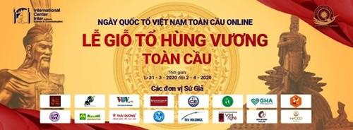 Tổ chức Ngày Quốc Tổ Việt Nam toàn cầu Online, năm 2020 - ảnh 2