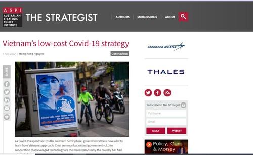 Dư luận Australia đánh giá cao việc xử lý sớm và hiệu quả dịch COVID-19 của Việt Nam - ảnh 1