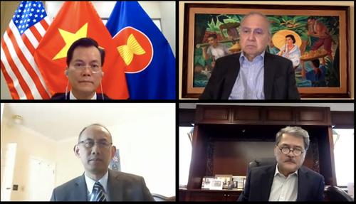 Việt Nam tham gia cuộc họp trực tuyến của Ủy ban ASEAN tại Mỹ - ảnh 1