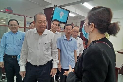 Phó Thủ tướng Thường trực Chính phủ Trương Hòa Bình làm việc tại tỉnh Phú Yên - ảnh 1