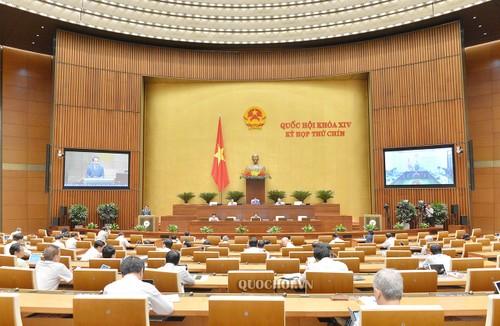 Quốc hội thảo luận về Luật tổ chức Quốc hội - ảnh 1