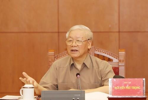 Tổng Bí thư, Chủ tịch nước Nguyễn Phú Trọng: Tiếp tục đẩy mạnh công tác phòng chống tham nhũng - ảnh 1