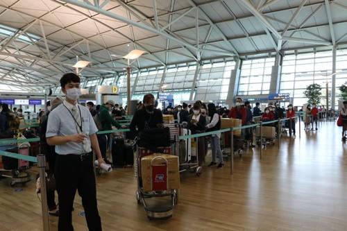 Đưa gần 340 công dân Việt Nam từ Hàn Quốc về nước - ảnh 1