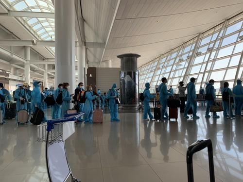 Đưa gần 340 công dân Việt Nam từ Hàn Quốc về nước - ảnh 2