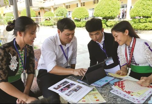 Ban Sáng tạo website tự học tiếng và chữ viếtcủa  dân tộc Thái - ảnh 1