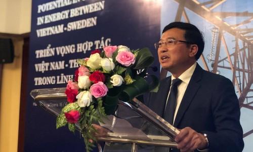 Khởi động hợp tác mới về năng lượng giữa Việt Nam và Thụy Điển - ảnh 1