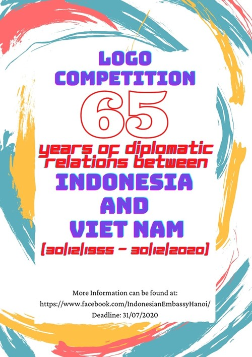 Phát động Cuộc thi thiết kế logo kỷ niệm 65 năm quan hệ ngoại giao Việt Nam – Indonesia - ảnh 1