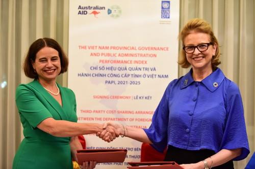 Australia và UNDP tăng cường  hợp tác nhằm thúc đẩy quản trị công và chính quyền phục vụ nhân dân ở Việt Nam - ảnh 1
